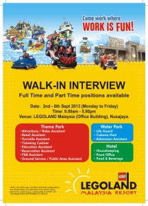Walk In Interview LegoLand