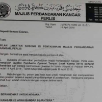 http://www.mpkangar.gov.my/ Job Vacancies 2016 at Majlis Perbandaran Kangar (MPK) Perlis is the smallest state in Malaysia. It lies at the northern part of the west coast of Peninsular Malaysia and has the Satun and Songkhla Provinces of Thailand on its northern border. It is bordered by the state of Kedah to the south. Job Vacancies 2016 at Majlis Perbandaran Kangar (MPK) KL Airport Services Sdn Bhd invites qualified Malaysians to fill the positions as below: - 1. Pembantu Operasi Tempat Letak Kereta (N11) For more information on these vacancies and how to apply, please visit the image below. Closing date: 15 April 2016 Job Vacancies 2016 at Majlis Perbandaran Kangar (MPK)