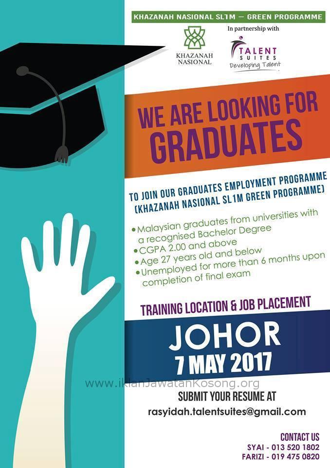 Job Vacancies 2017 At Khazanah Nasional Jawatan Kosong